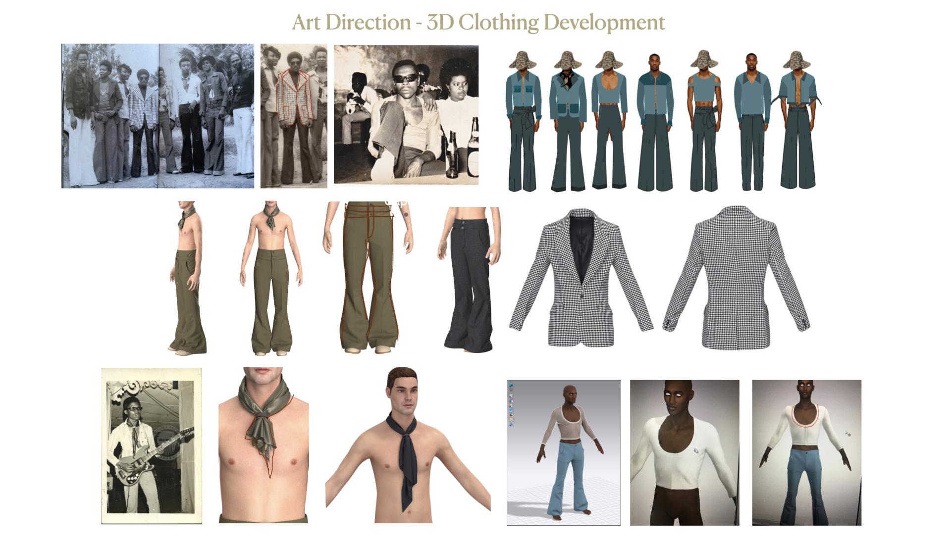 3D Clothing Design Process