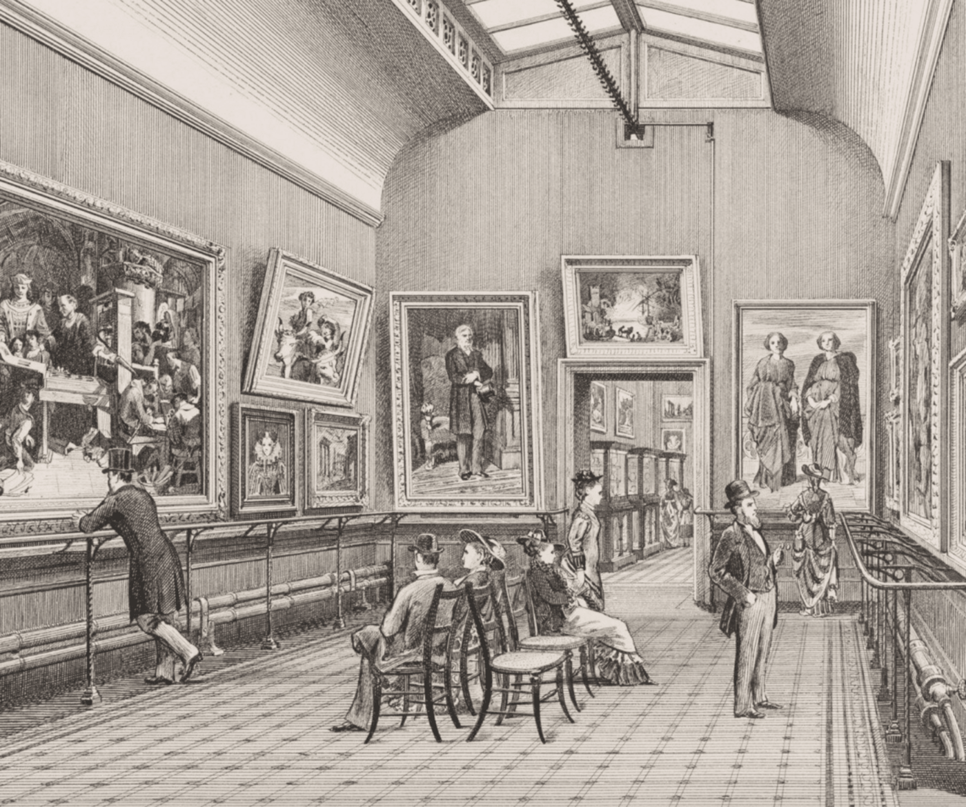 The Nineteenth Century V&A Visitors (Was known as the South Kensington Museum)