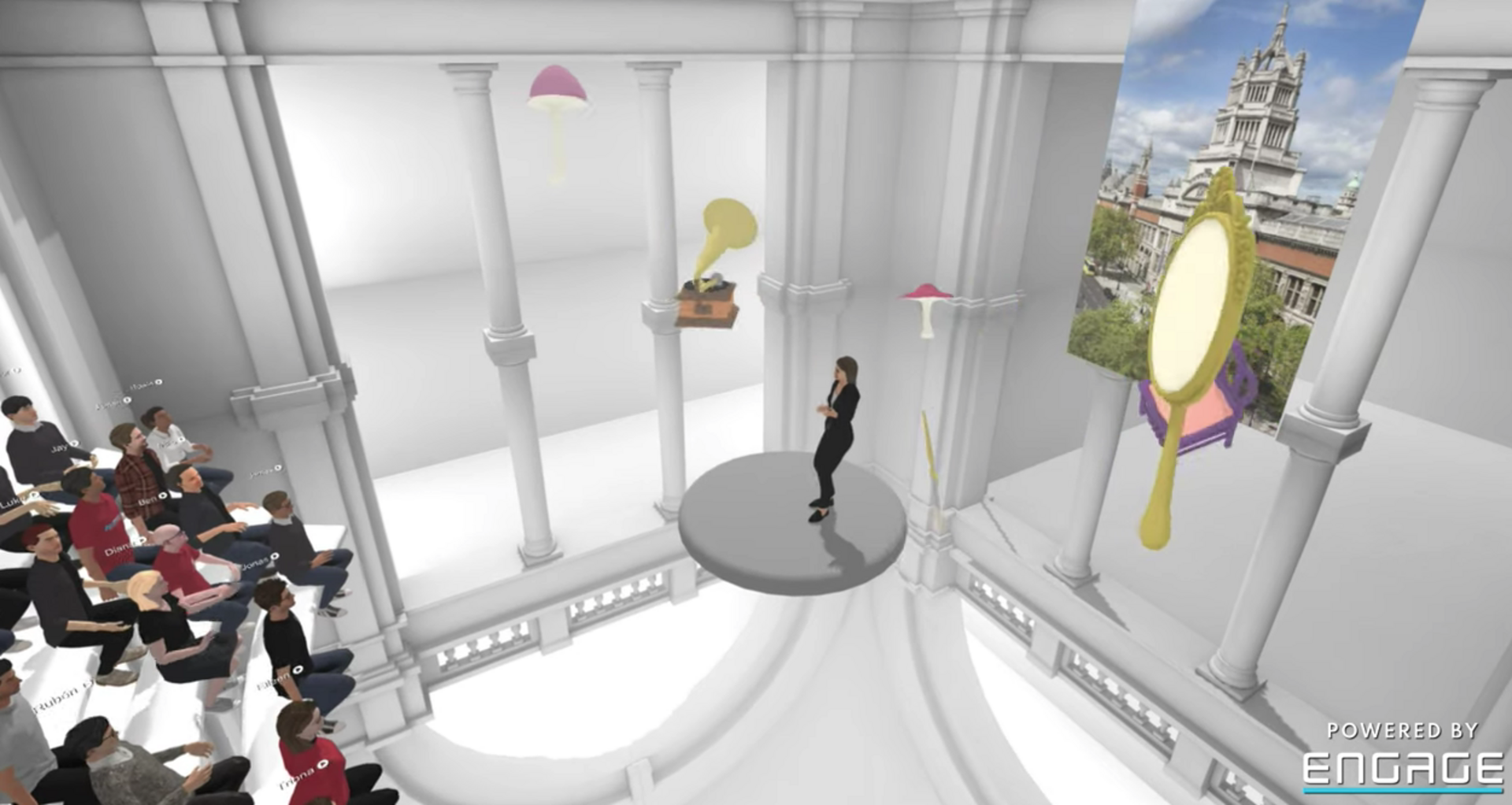 The V&A Virtual Reality Event Viewed on Mobile Devices Anywhere at Anytime  (2020)