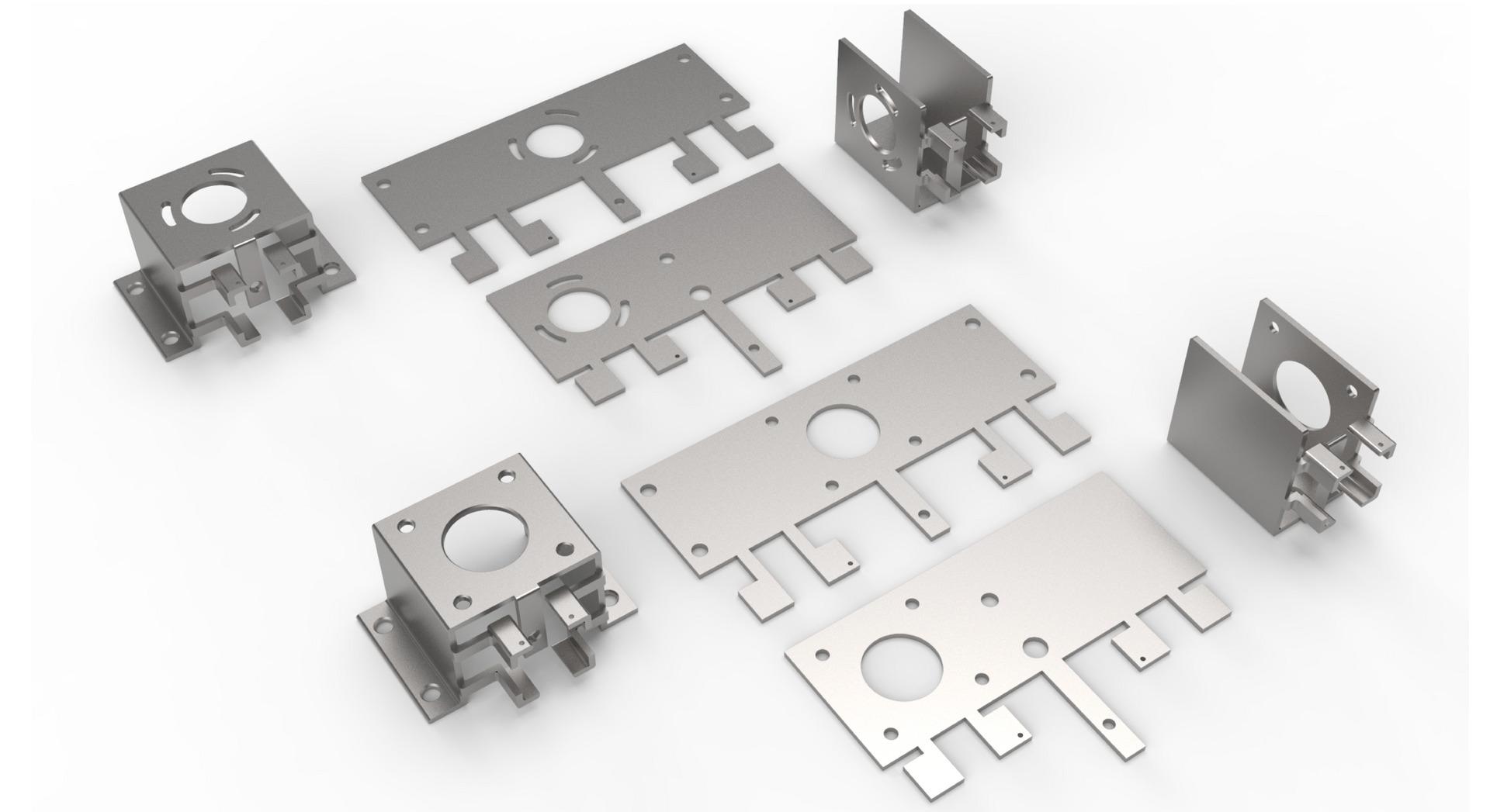 part deisgn for metal folding