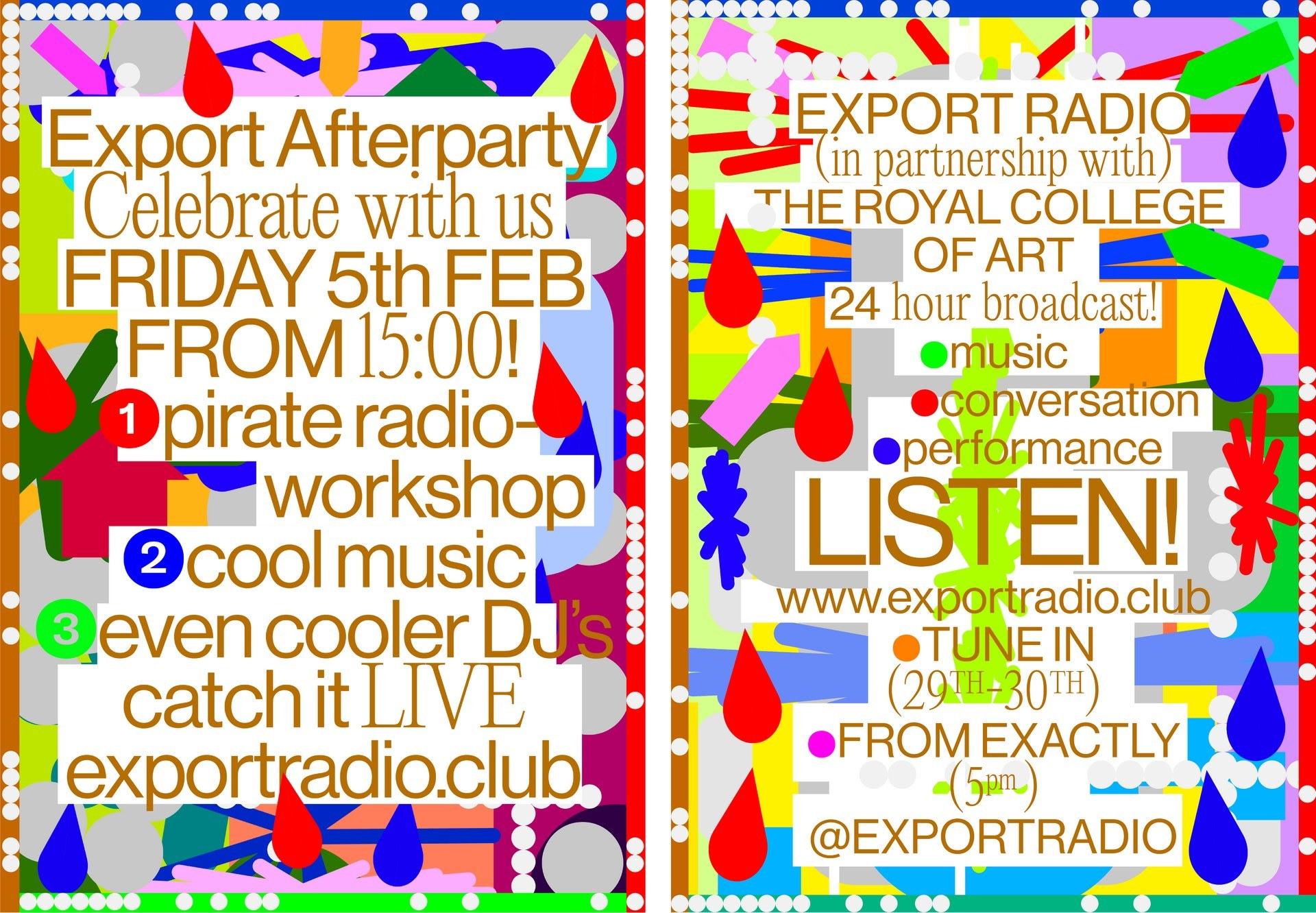 Export Radio x Royal College of Art 24-Hour Livestream!
