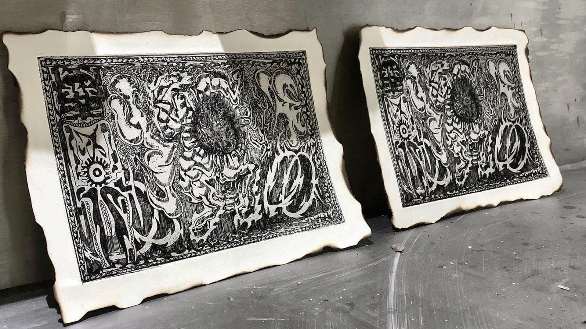 Etching Print #3