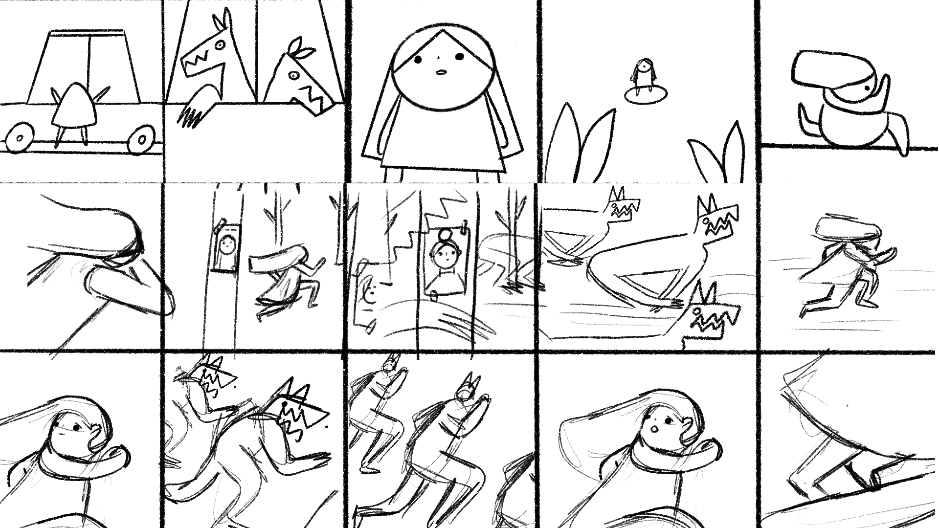 Scenes from Storyboard