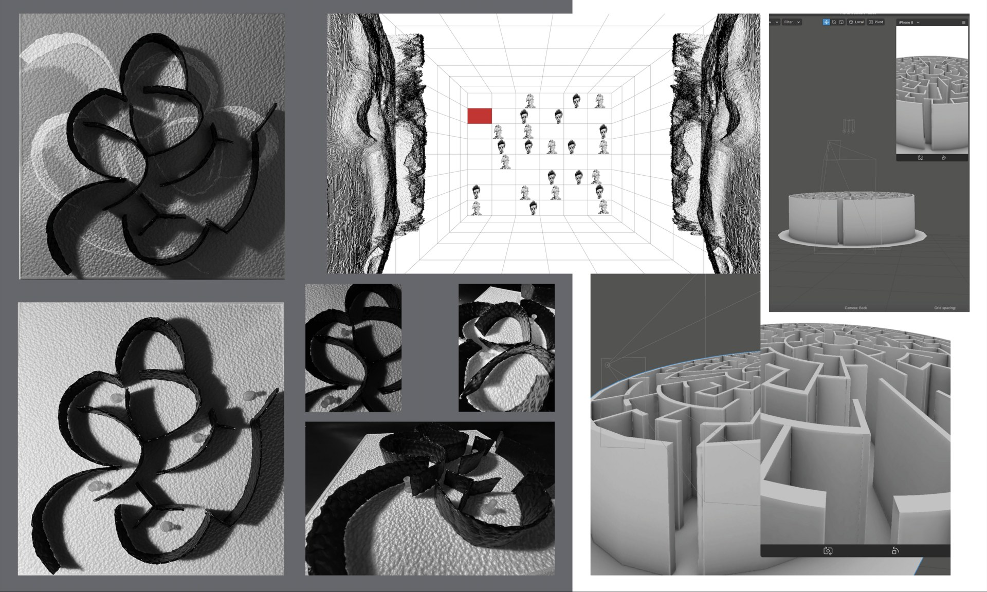 Physical and Digital Models of UI