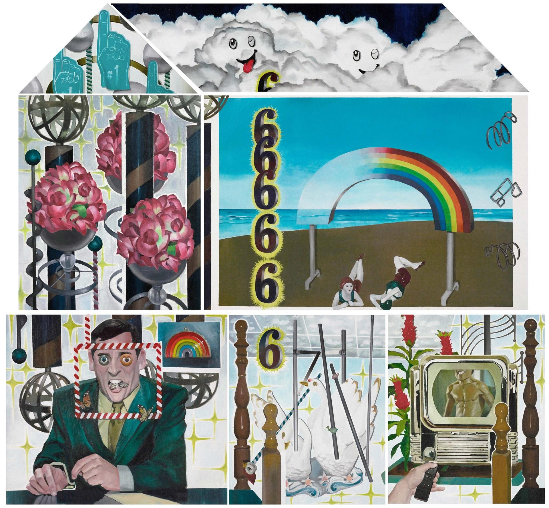 Humor 6, oil on linen, 160cm×170cm×5cm, 2020