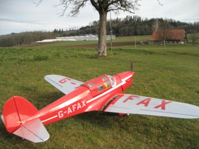 Racer  British  Aircraft   Flugbereit