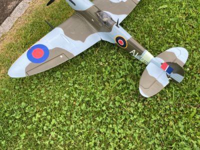 "Flugmodell ""Spitfire"""