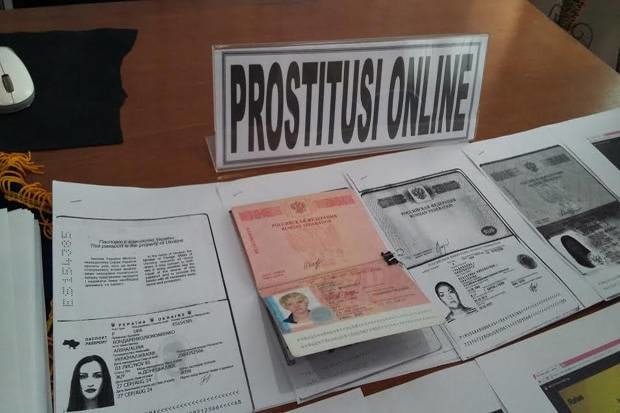 Документы задержанных проституток