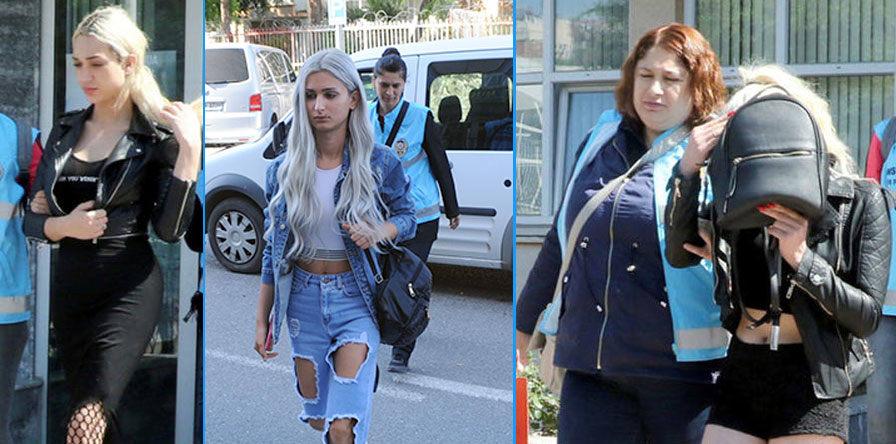 Задержанные проститутки, Турция