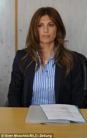 Светлана Масловская в суде Франкфурта