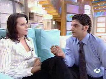 Светлана Орлова и Рикардо Наварро на ТВ шоу