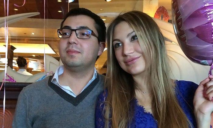 Ольга Пиманова с мужем