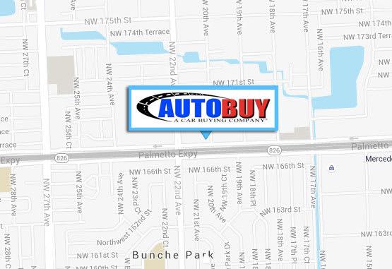 Auto buy new location Miami Gardens Florida