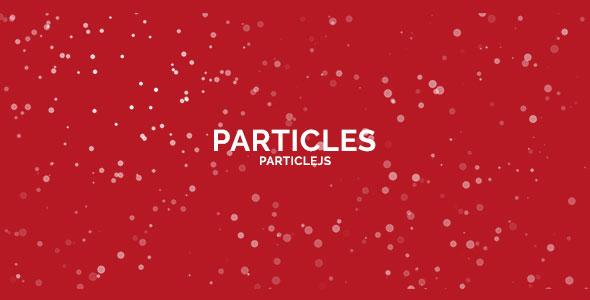 Particle Js