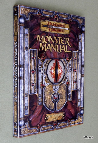 Image for Monster Manual: Core Rulebook III v. 3.5 (Dungeons & Dragons d20 System)