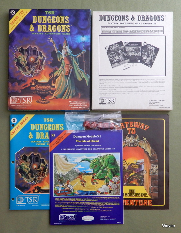 Image for Dungeons & Dragons Expert Set