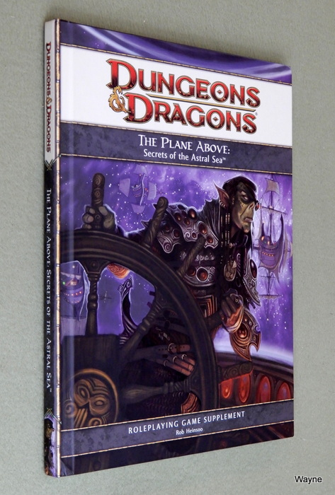 Image for The Plane Above: Secrets of the Astral Sea (Dungeons & Dragons 4th Edition D20 Supplement)