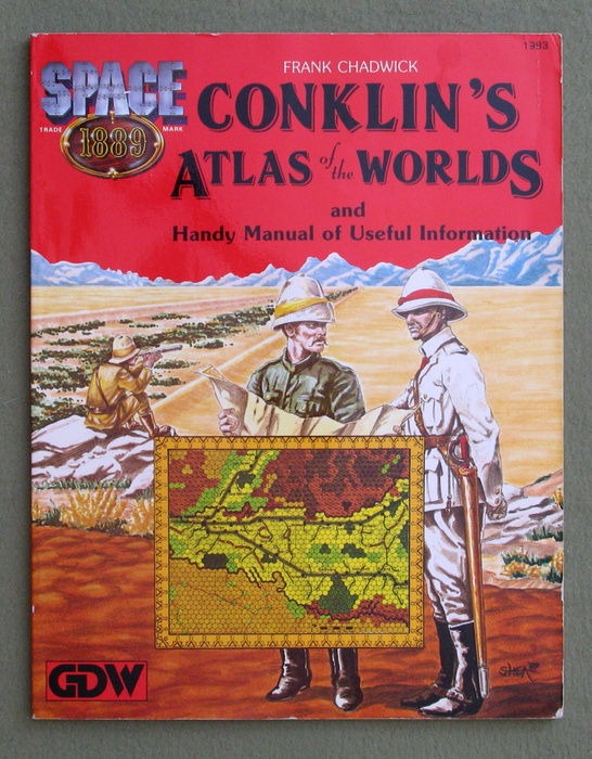 Image for Conklin's Atlas of the Worlds (Space 1889)