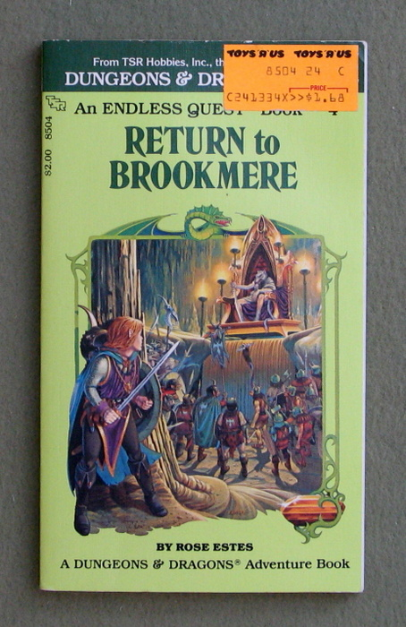 Image for Return to Brookmere (Endless Quest Book 4: Dungeons & Dragons)