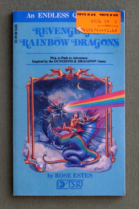 Image for Revenge of the Rainbow Dragons (Endless Quest Book 6: Dungeons & Dragons)