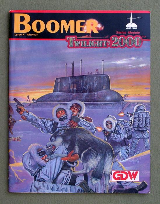 Image for Boomer (Twilight: 2000)