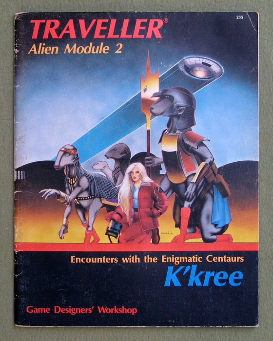Image for K'kree: Encounters with the Enigmatic Centaurs (Traveller Alien Module 2)