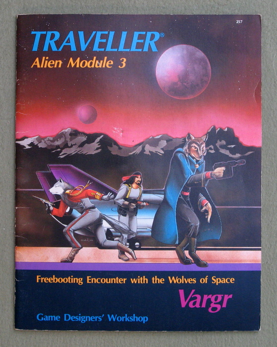Image for Vargr (Traveller Alien Module 3)