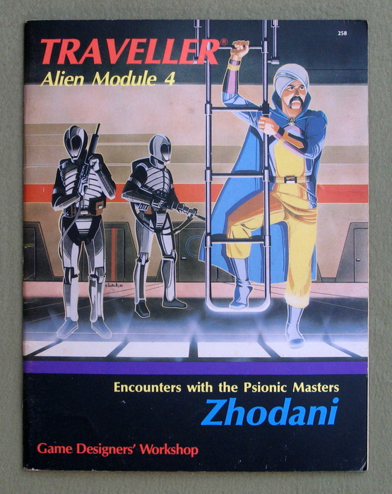 Image for Zhodani (Traveller Alien Module 4)