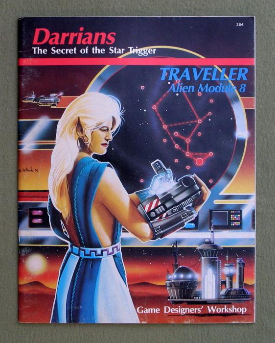 Image for Darrians: Traveller Alien Module 8