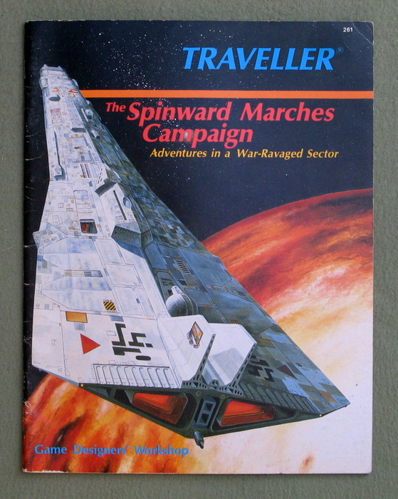 Image for The Spinward Marches Campaign: Adventures in a War-Ravaged Sector (Traveller)
