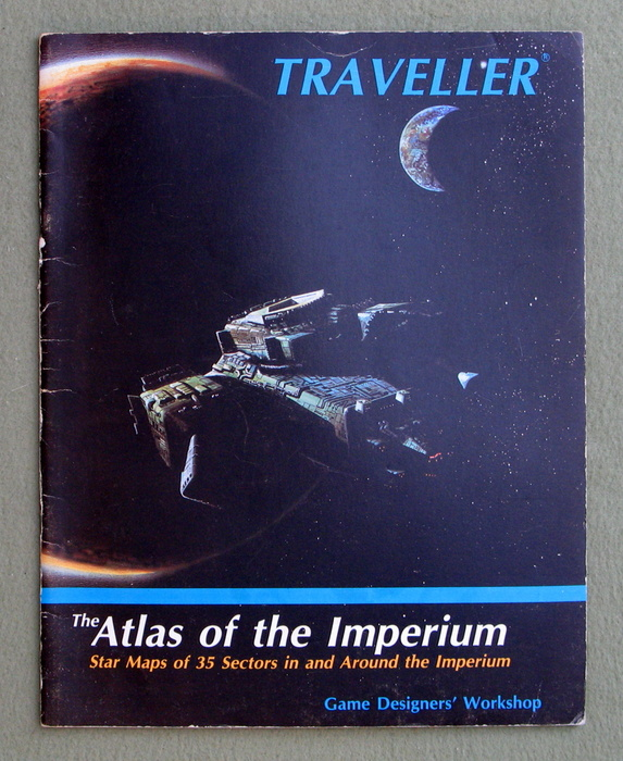 Image for The Atlas of the Imperium (Traveller)