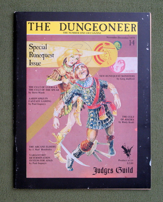 Image for The Dungeoneer, Issue 14 (November/December 1979)