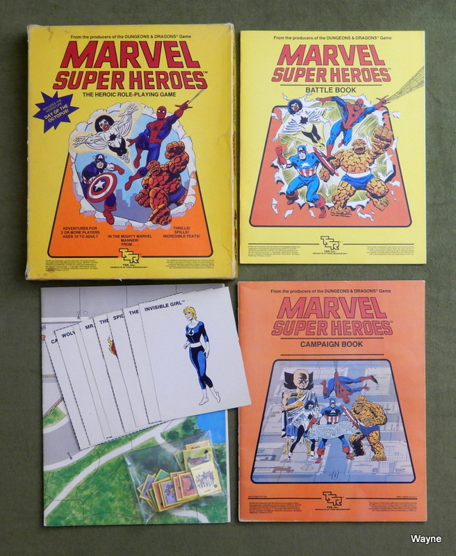 Image for Marvel Super Heroes: The Heroic Roleplaying Game - PLAY SET