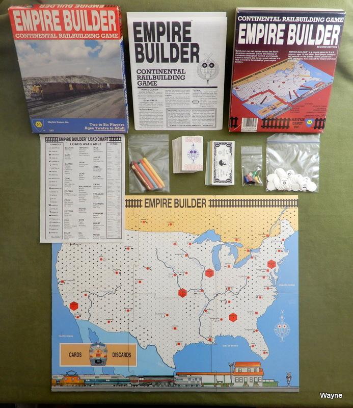 Image for Empire Builder: Continental Railbuilding Game