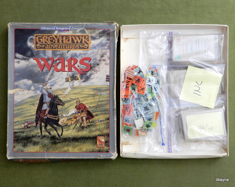 Image for Greyhawk Wars (AD&D) - PARTS - CARDS - COUNTERS