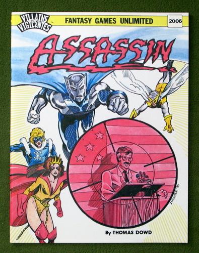 Image for Assassin (Villains & Vigilantes)
