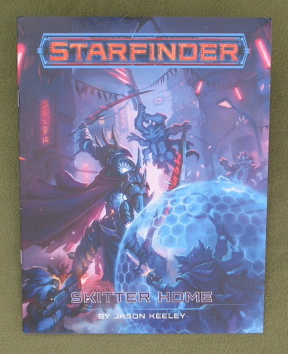 Image for Skitter Home (Free RPG Day 2020 Starfinder)