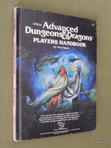 Image for Players Handbook (AD&D, 1e Easley cover) - PLAY COPY