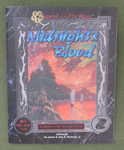 Image for Midnight's Blood - High Magic Series M-1 (Legend of the Five Rings)