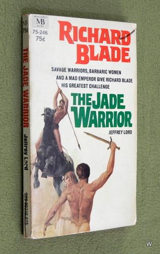 Image for The Jade Warrior: Richard Blade #2 (Macfadden 75-246)