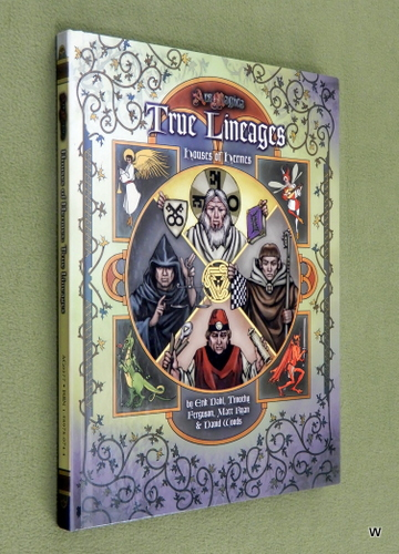 Image for True Lineages: Houses of Hermes (Ars Magica)