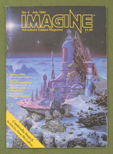 Image for Imagine Magazine, Issue 4