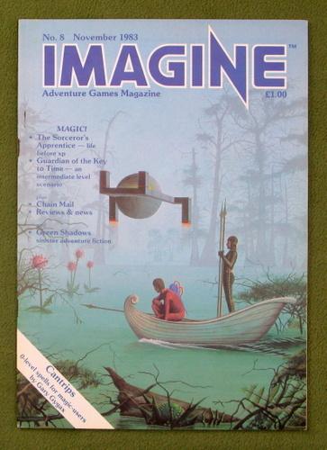 Image for Imagine Magazine, Issue 8