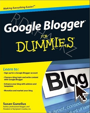 google blogger dummies
