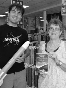 Mary Boyd and Science Teacher Rocket Boys