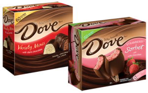 FREE Box of Dove Ice Cream or Sorbet Multipack Bars at