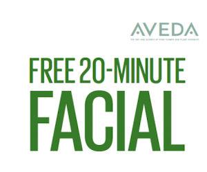 FREE Facial at Aveda | Free Samples By Mail - 100% Free Stuff