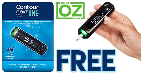 Free Blood Glucose Meter >> Free Contour Next One Blood Glucose Meter Kit Free Samples