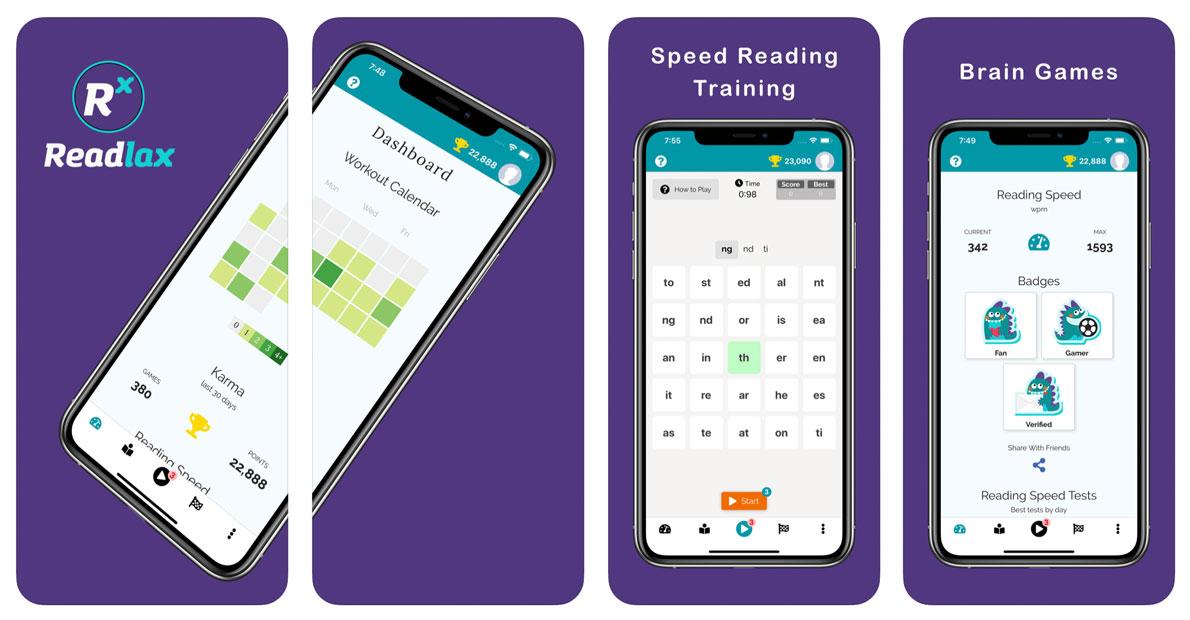 Readlax: Speed Reading