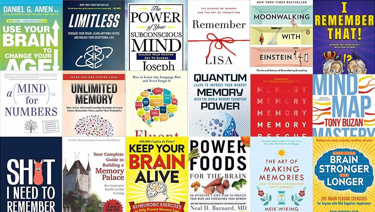 30 Best Memory Improvement Books